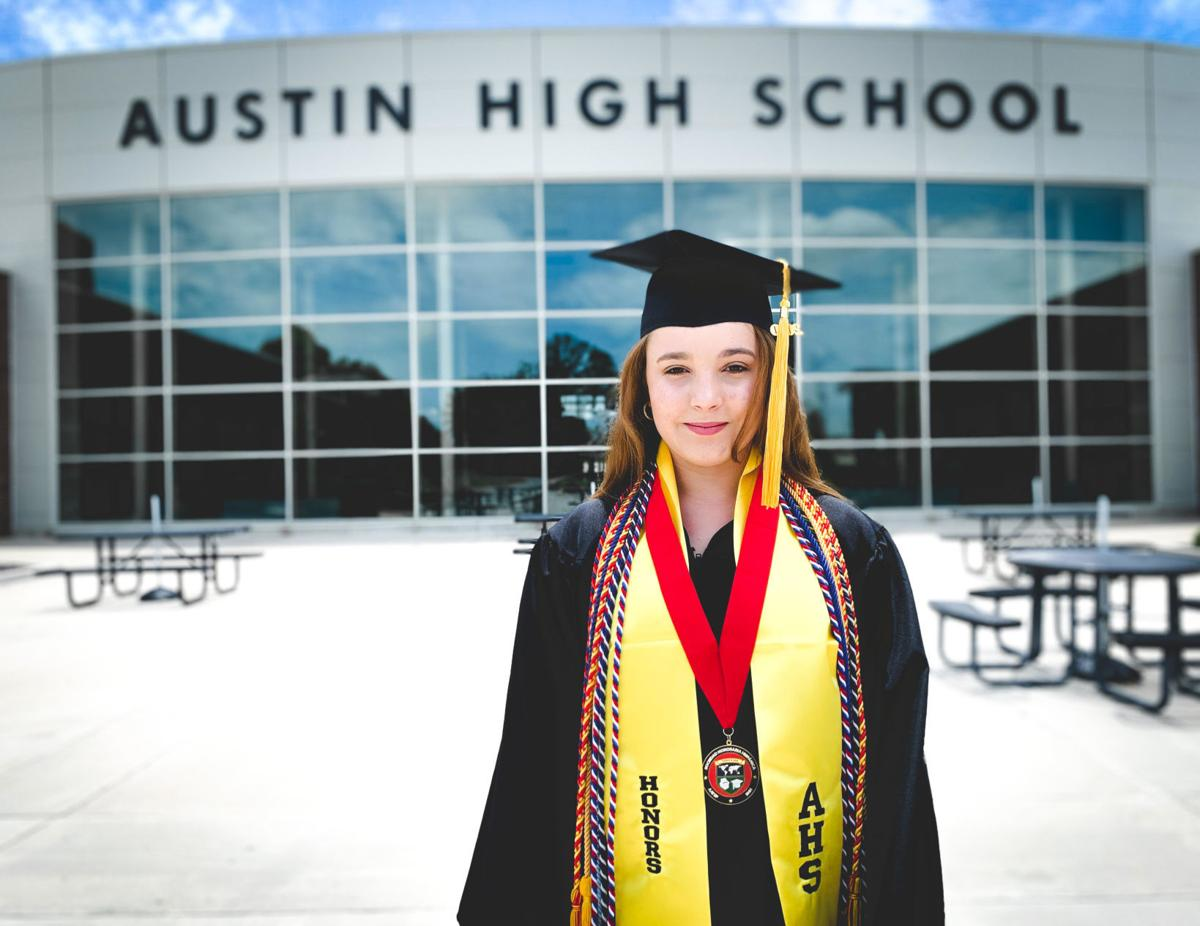Malena Leon Hidalgo graduated from Austin High with a 4.03 GPA after having little grasp of English as a freshman.